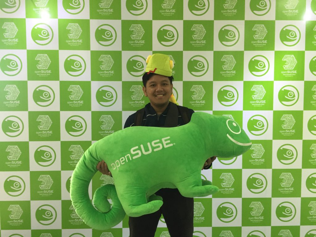 Nugi Abdianysah at openSUSE Asia Summit 2019