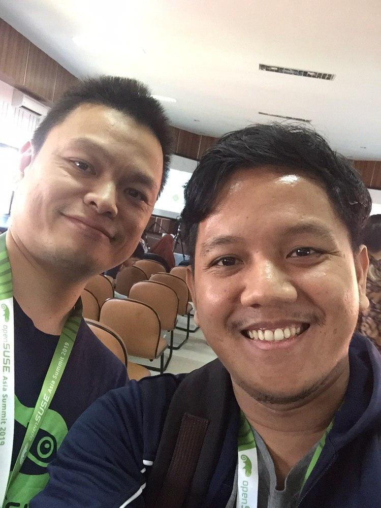 Me and Max Huang